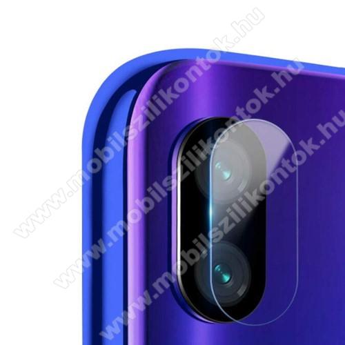 Kameravédő üvegfólia, 0,3mm, Arc Edge - Xiaomi Redmi 7 / Xiaomi Redmi Y3