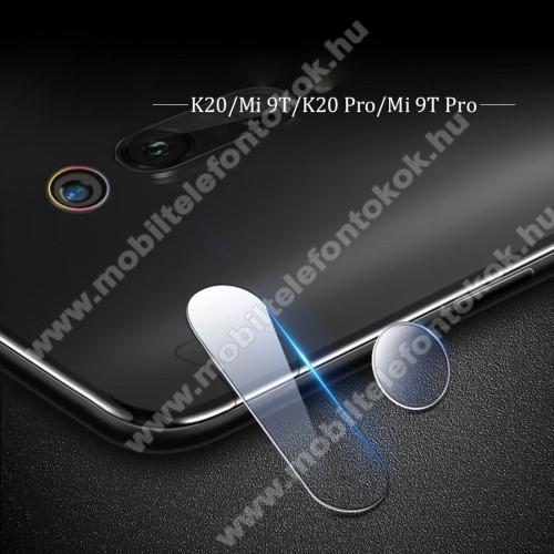 Kameravédő üvegfólia, 0,3mm, Arc Edge - Xiaomi Mi 9T Pro / Xiaomi Mi 9T/ Xiaomi Redmi K20 Pro / Xiaomi Redmi K20