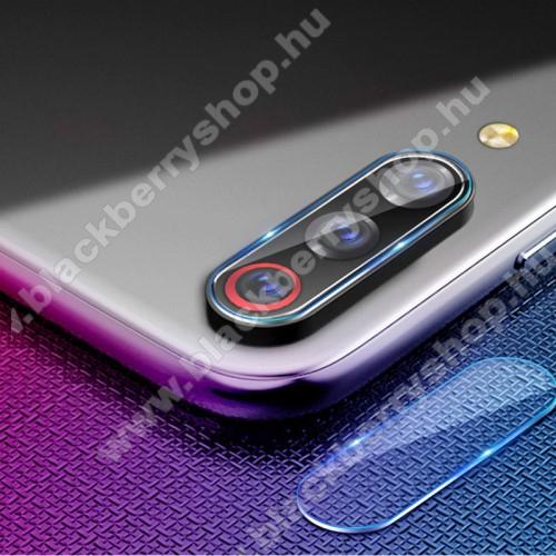 Kameravédő üvegfólia, 0,3mm, Arc Edge - Xiaomi Mi A3 / Xiaomi Mi CC9e