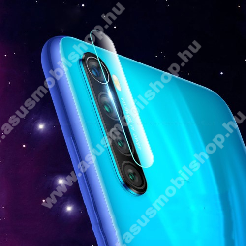 Kameravédő üvegfólia, 0,3mm, Arc Edge - Xiaomi Redmi Note 8 / Xiaomi Redmi Note 8T