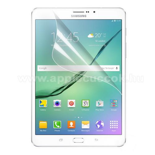 K�perny?v�d? f�lia - Clear - 1db, t�rl?kend?vel - SAMSUNG T710 / T715 Galaxy Tab S2 8.0