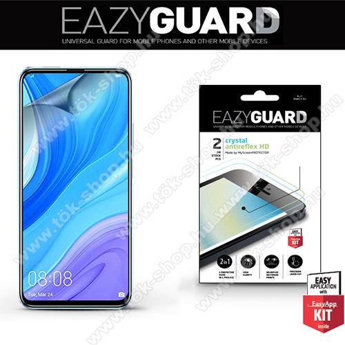 Képernyővédő fólia - 2 db/csomag (Crystal/Antireflex MATT!) - törlőkendővel, A képernyő sík részét védi - HUAWEI P smart Pro (2019) / HUAWEI P Smart Z / HUAWEI Y9s / Honor 9X (Global) / Honor 9X (China) / Honor 9X Pro (China)