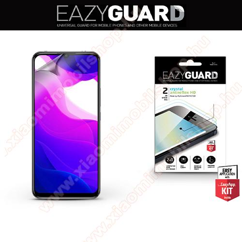 Képernyővédő fólia - 2 db/csomag (Crystal/Antireflex MATT!) - törlőkendővel, A képernyő sík részét védi - Xiaomi Mi 10 Lite 5G / Xiaomi Mi 10 Youth 5G / Xiaomi Mi 10 Lite Zoom