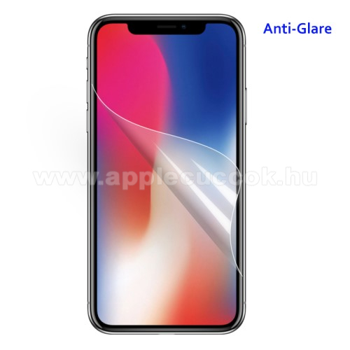 APPLE iPhone Xr Képernyővédő fólia - Anti-glare - MATT! - 1db, törlőkendővel - APPLE iPhone Xr