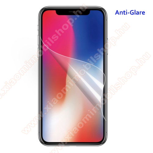 Képernyővédő fólia - Anti-glare - MATT! - 1db, törlőkendővel - APPLE iPhone 11 Pro Max / APPLE iPhone XS Max
