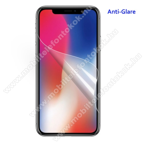 APPLE iPhone XS Max Képernyővédő fólia - Anti-glare - MATT! - 1db, törlőkendővel - APPLE iPhone XS Max
