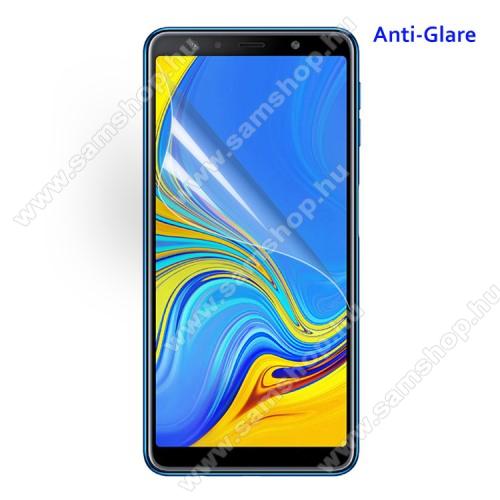 SAMSUNG Galaxy A7 (2018) (SM-A750F)Képernyővédő fólia - Anti-glare - MATT! - 1db, törlőkendővel - SAMSUNG SM-A750F Galaxy A7 (2018)
