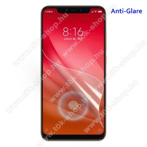 Képernyővédő fólia - Anti-glare - MATT! - 1db, törlőkendővel - Xiaomi Mi 8 Pro