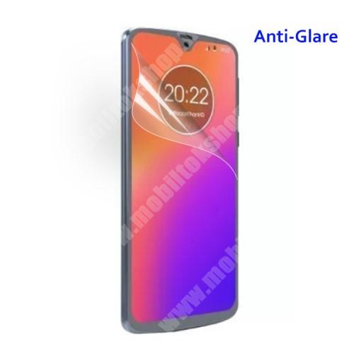 Képernyővédő fólia - Anti-glare - MATT! - 1db, törlőkendővel - MOTOROLA Moto G7