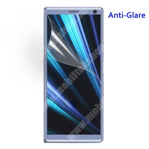 Képernyővédő fólia - Anti-glare - MATT! - 1db, törlőkendővel - SONY Xperia 10