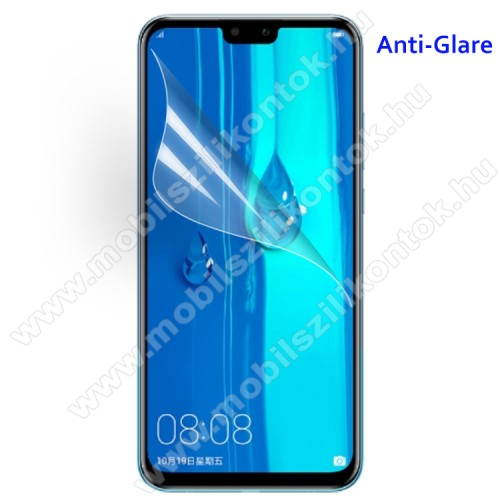 Képernyővédő fólia - Anti-glare - MATT! - 1db, törlőkendővel - HUAWEI Y9 (2019) / HUAWEI Enjoy 9 Plus