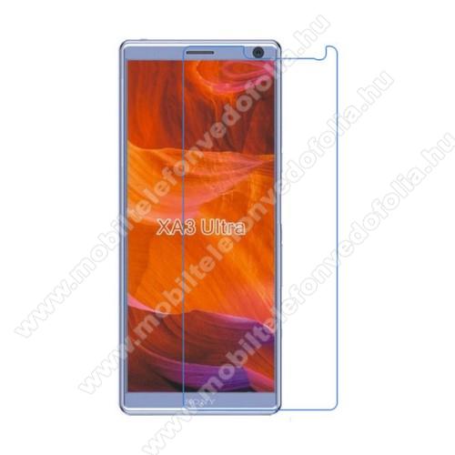 Képernyővédő fólia - Anti-glare - MATT! - 1db, törlőkendővel - SONY Xperia XA3 Ultra