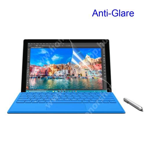 Képernyővédő fólia - Anti-glare - MATT! - 1db, törlőkendővel - MICROSOFT Surface Pro 4