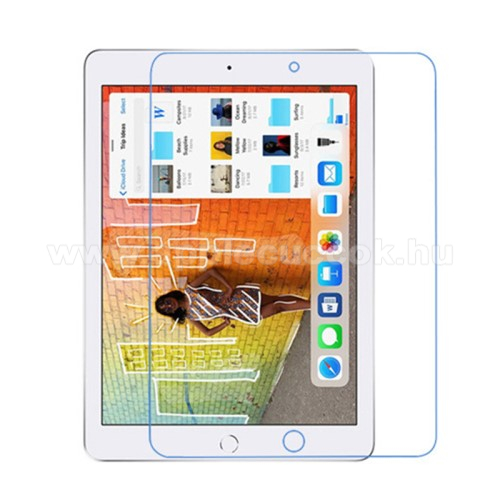 Képernyővédő fólia - Anti-glare - MATT - 1db, törlőkendővel - APPLE iPad 10.2 (7th Generation) (2019)