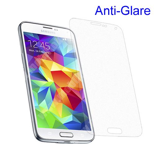 SAMSUNG Galaxy S5 (SM-G900F) Képernyővédő fólia - Anti-Glare - MATT! - 1db, törlőkendővel - SAMSUNG SM-G900F Galaxy S5