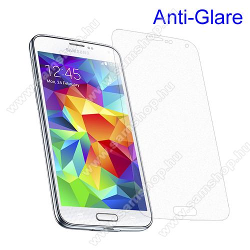 SAMSUNG Galaxy S5 Plus (SM-G901F)Képernyővédő fólia - Anti-Glare - MATT! - 1db, törlőkendővel - SAMSUNG SM-G900F Galaxy S5