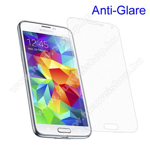Képernyővédő fólia - Anti-Glare - MATT! - 1db, törlőkendővel - SAMSUNG SM-G900F Galaxy S5