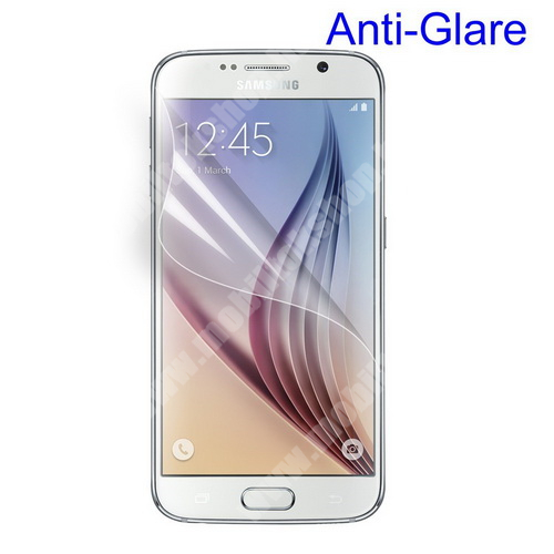 Képernyővédő fólia - Anti-glare - MATT! - 1db, törlőkendővel - SAMSUNG SM-G925F Galaxy S6 Edge