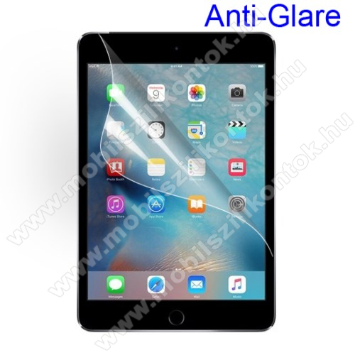 Képernyővédő fólia - Anti-glare - MATT! - 1db, törlőkendővel - APPLE iPad Mini 4 / APPLE iPad mini (2019)