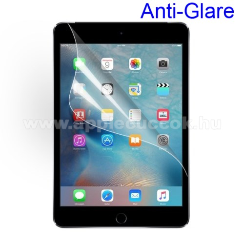 Apple iPad mini (2019) Képernyővédő fólia - Anti-glare - MATT! - 1db, törlőkendővel - APPLE iPad Mini 4 / APPLE iPad mini (2019)