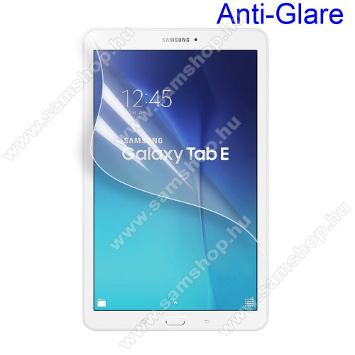 SAMSUNG SM-T560 Galaxy Tab E 9.6Képernyővédő fólia - Anti-glare - MATT! - 1db, törlőkendővel - SAMSUNG SM-T560 Galaxy Tab E 9.6