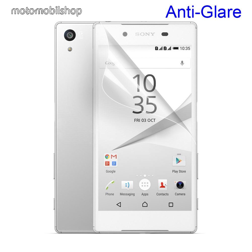 Képernyővédő fólia - Anti-glare - MATT! - 1db, törlőkendővel - SONY Xperia Z5 / Z5 Dual