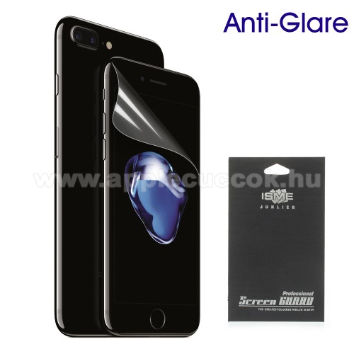APPLE iPhone 7 Képernyővédő fólia - Anti-glare - MATT! - 1db, törlőkendővel - APPLE iPhone 7 (4.7)  / APPLE iPhone 8 (4.7)