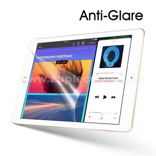 Képernyővédő fólia - Anti-glare - MATT! - 1db, törlőkendővel - APPLE iPad 9.7-inch (2017)