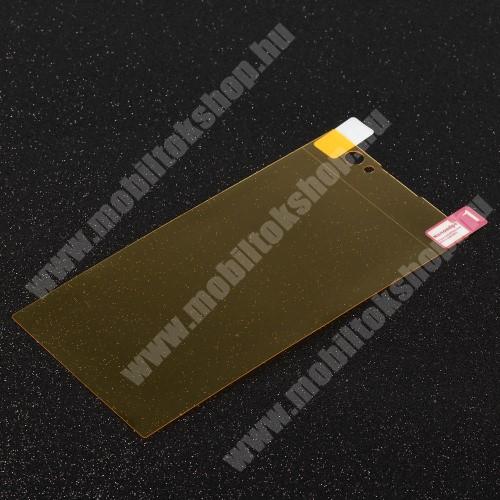 Képernyővédő fólia - Clear - 1db, törlőkendővel, teljes képernyőre - Sony Xperia XA2