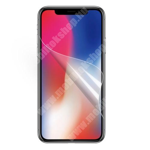 APPLE iPhone Xr Képernyővédő fólia - Clear - 1db, törlőkendővel - APPLE iPhone Xr