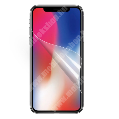 APPLE iPhone XS Max Képernyővédő fólia - Clear - 1db, törlőkendővel - APPLE iPhone 11 Pro Max / APPLE iPhone XS Max