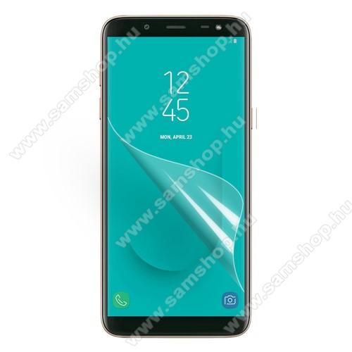 SAMSUNG SM-J600F Galaxy J6 (2018)Képernyővédő fólia - Clear - 1db, törlőkendővel - SAMSUNG SM-J600F Galaxy J6 (2018)