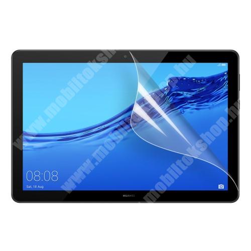 Képernyővédő fólia - Clear - 1db, törlőkendővel - HUAWEI MediaPad T5 10