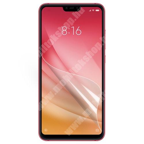 Xiaomi Mi 8 Youth (Mi 8X) Képernyővédő fólia - Clear - 1db, törlőkendővel - Xiaomi Mi 8 Lite / Xiaomi Mi 8 Youth (Mi 8X)