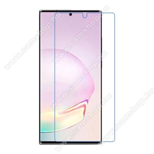 SAMSUNG Galaxy Note20 5G (SM-N981B/DS)Képernyővédő fólia - Clear - 1db, törlőkendővel, a képernyő sík részét védi - SAMSUNG Galaxy Note20 5G (SM-N981B/DS)
