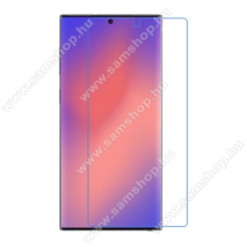 SAMSUNG Galaxy Note20 Ultra 5G (SM-N985F)Képernyővédő fólia - Clear - 1db, törlőkendővel, a képernyő sík részét védi - SAMSUNG Galaxy Note20 Ultra (SM-N985F)