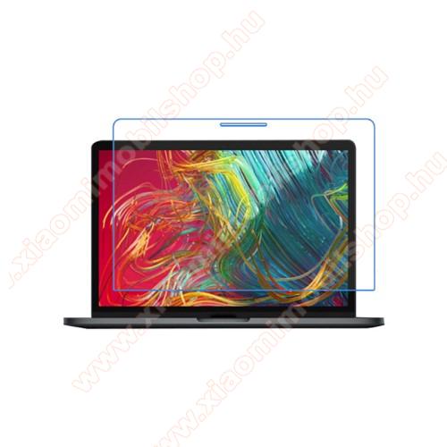 Képernyővédő fólia - Clear - 1db, törlőkendővel, teljes képernyőre - MacBook Pro 13.3