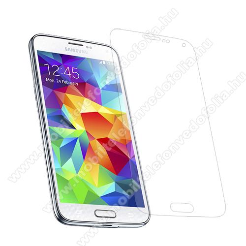 Képernyővédő fólia - Clear - 1db, törlőkendővel - SAMSUNG SM-G900F Galaxy S5