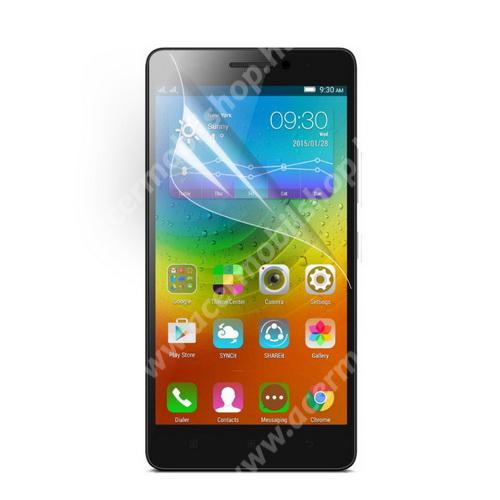 Képernyővédő fólia - Clear - 1db, törlőkendővel - Lenovo K3 Note (K50-t5) / Lenovo A7000
