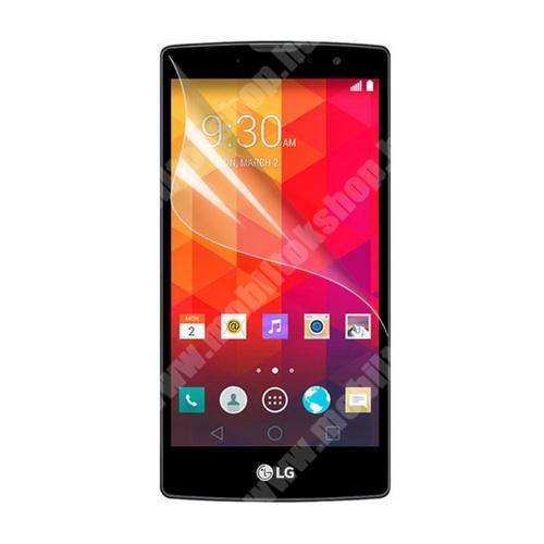 LG G4c (H525N) Képernyővédő fólia - Clear - 1db, törlőkendővel - LG Magna (C90)