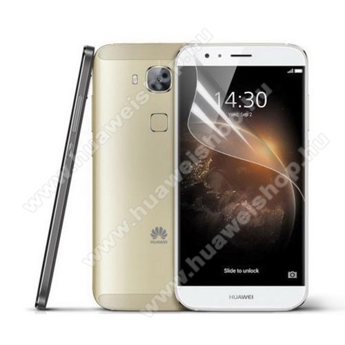 HUAWEI G8Képernyővédő fólia - Clear - 1db, törlőkendővel - HUAWEI G7 Plus