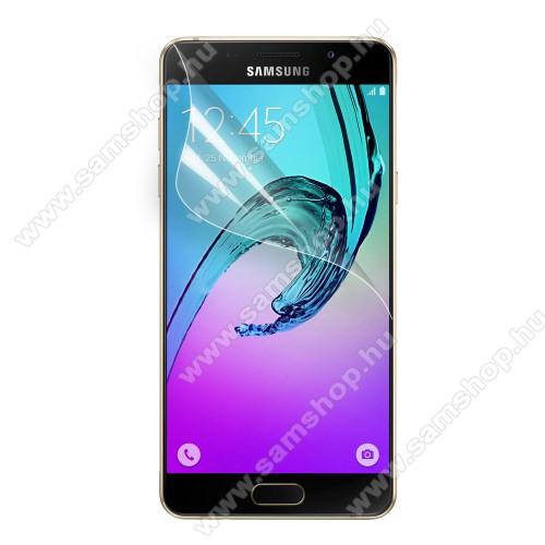 SAMSUNG SM-A510F Galaxy A5 (2016)Képernyővédő fólia - Clear - 1db, törlőkendővel - SAMSUNG SM-A510F Galaxy A5 (2016)