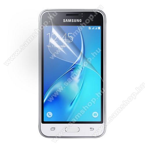 SAMSUNG SM-J120F Galaxy J1 (2016)Képernyővédő fólia - Clear - 1db, törlőkendővel - SAMSUNG SM-J120F Galaxy J1 (2016)