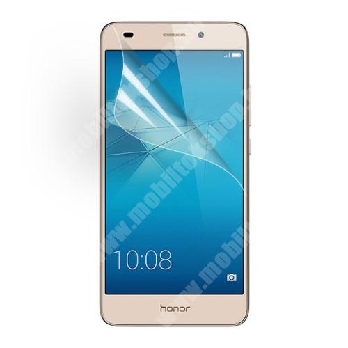 Képernyővédő fólia - Clear - 1db, törlőkendővel - HUAWEI Honor 5C / HUAWEI Honor 7 lite