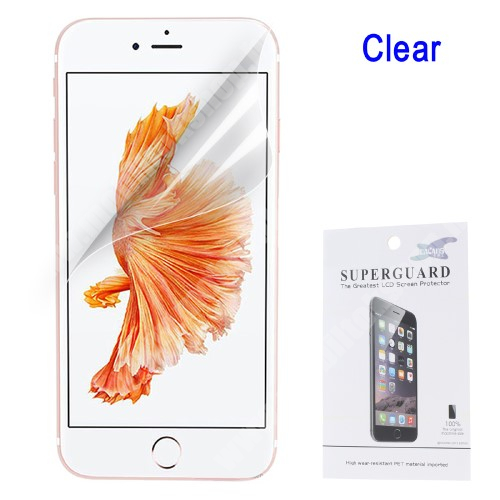APPLE iPhone 6s Képernyővédő fólia - Clear - 1db, törlőkendővel - APPLE iPhone SE (2020) / APPLE iPhone 7 / APPLE iPhone 8 / APPLE iPhone 6 / APPLE iPhone 6S