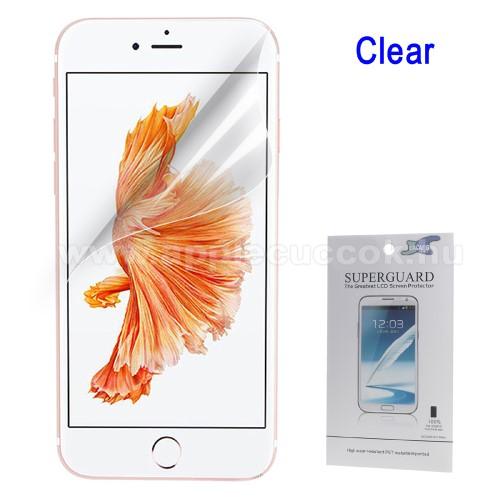 Képernyővédő fólia - Clear - 1db, törlőkendővel - APPLE iPhone 7 Plus (5.5) / APPLE iPhone 8 Plus (5.5)