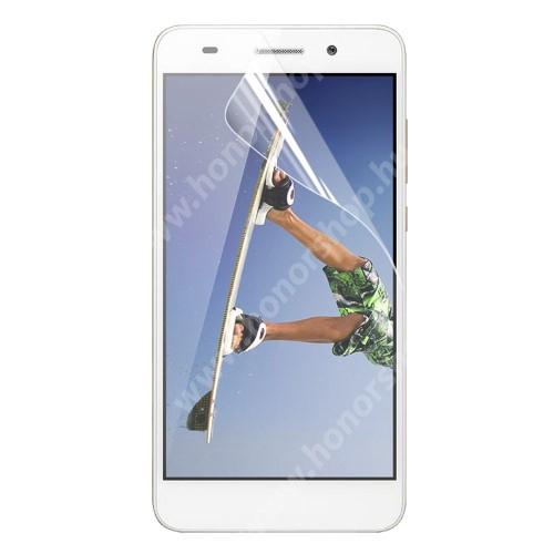 HUAWEI Honor 5AKépernyővédő fólia - Clear - 1db, törlőkendővel - HUAWEI Honor 5A / HUAWEI Y6 II / HUAWEI Honor Holly 3