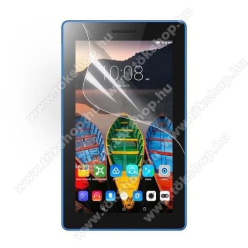 Képernyővédő fólia - Clear - 1db, törlőkendővel - Lenovo Tab3 7.0 730