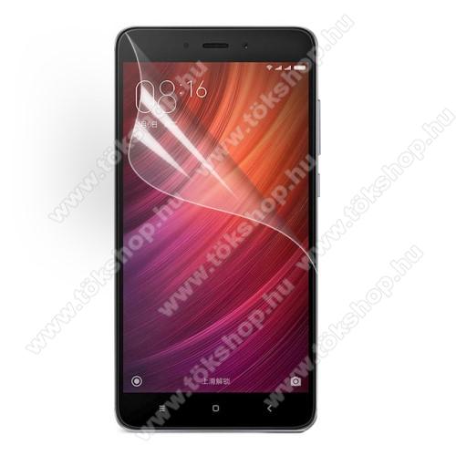 Képernyővédő fólia - Clear - 1db, törlőkendővel - Xiaomi Redmi Note 4 / Xiaomi Redmi Note 4X (Global version)