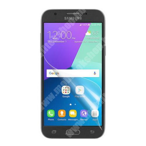 Képernyővédő fólia - Clear - 1db, törlőkendővel - SAMSUNG Galaxy J3 (2017)